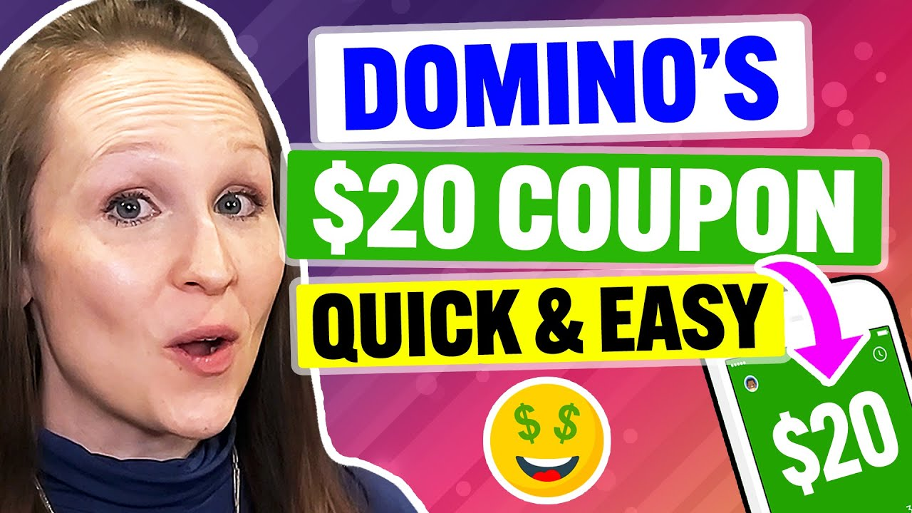 FREE Domino's Coupons & Promo Codes 2021: MAX Discount on Pizza Delivery! (100% Works)