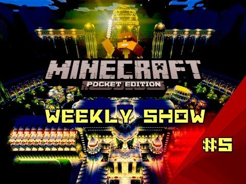 Skins and Redstone 0.9.0 Minecraft Pocket Edition Weekly Show #5