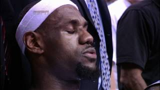 Lebron S Meditation During The Timeout