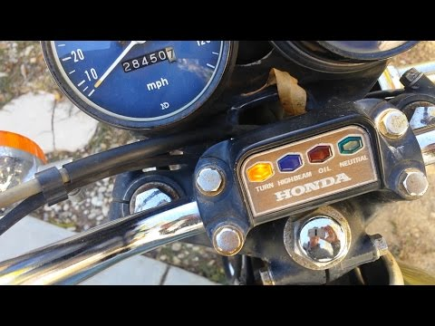 Replacing A Faulty Turn Signal Indicator Relay On An Older Model/Vintage Motorcycle