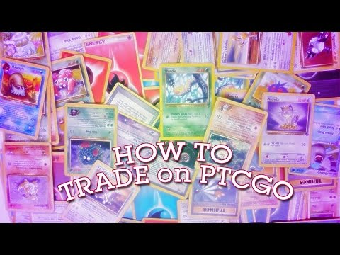 [HOW-TO] Trading on Pokemon Trading Card Game Online PTCGO