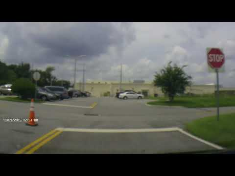 Osceola County Driver's License test. Second Part. Normal speed