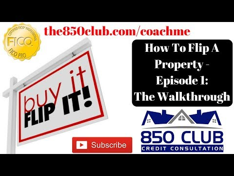 How To Flip A Property - Episode 1: The Walk Through/Vision In Chicago
