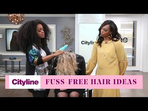 Gorgeous Fuss-Free Hair Ideas