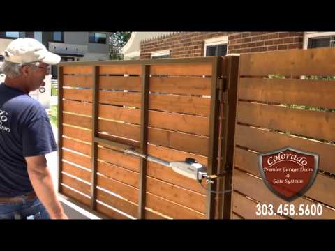 Colorado Automatic Driveway Gate System