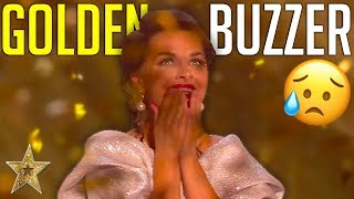 EMOTIONAL Sand Art Gets The First GOLDEN BUZZER On BGT: The Champions 2019!   Got Talent Global