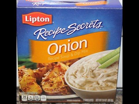 Using Lipton Onion Soup in Pork Roast & Onion Roasted Potatoes