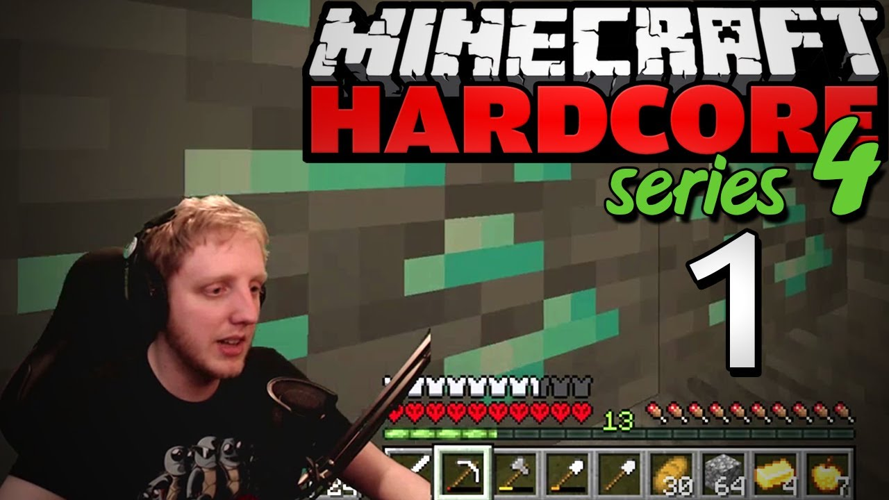 "Minecraft Hardcore - S4E1 - ""WE GO AGAIN"" • Highlights"