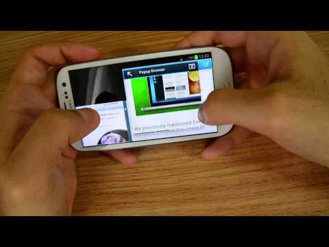 Samsung Galaxy S3 (4.1.2) - Extreme Multitasking
