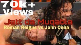 Jatt da muqabla   Sidhu Moose wala ft. Roman Reigns vs john ceena