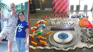 Building Dominoes for KATY PERRY! (Part 1)