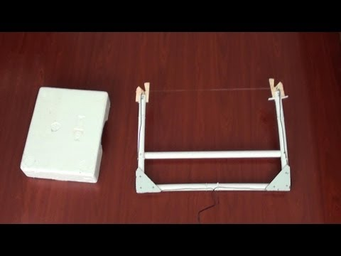 How to make Hot Wire Foam Cutter at home