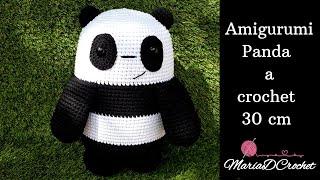 Tutorial: Osito Panda (Amigurumi con bajo nivel de dificultad ... | 180x320