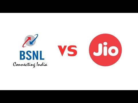 JIO 4G  VS  BSNL 3G
