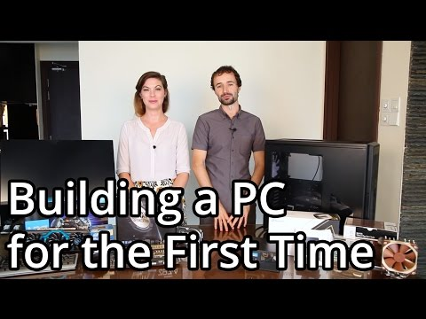 Building a PC for the First Time