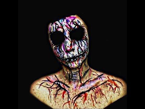 Colour Splash Pop Art Skull - Halloween Makeup Tutorial