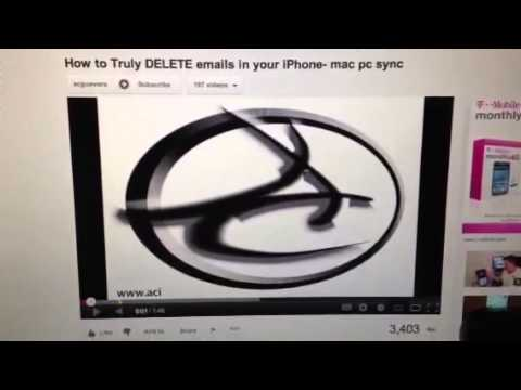 Why IOS doesn't delete mail from server
