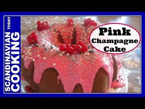 How To Make Easy Pink Champagne Almond Bundt Cake