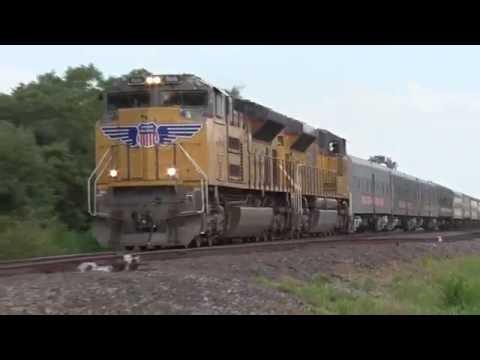 2016 Circus Train -San Antonio to Houston via UP and BNSF detour