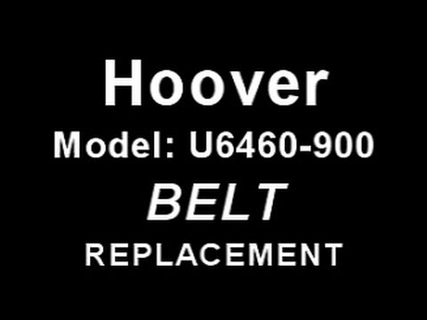 Vacuum Belt Replacement on Hoover Windtunnel Model U6460-900