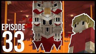 Hermitcraft 7: Episode 33 - THE UPSIDE DOWN MANSION