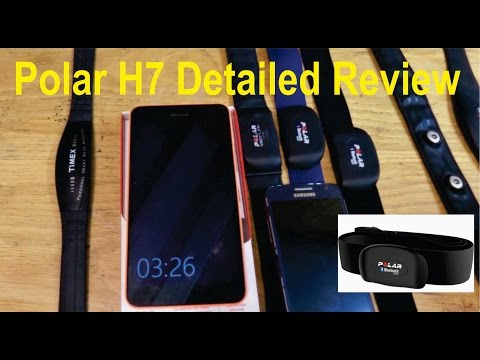 Polar H7 Heart Rate Monitor: Detailed review - Bluetooth, MiCoach, Battery Replacement etc