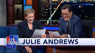Julie Andrews Reads Stephen Colbert A Bedtime Story