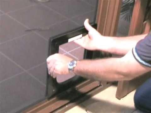 Petway Pet Doors - DIY Fitting Instructions - Stainless Steel Mesh Door