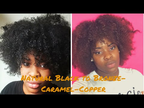 How To| Dye Natural Hair Without Bleach | Creme Of Nature Hair Color Demo/Review