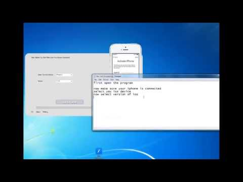 Official iOS 8 and iOS 7 iCloud Activation Lock Bypass Tool JANUARY   2015