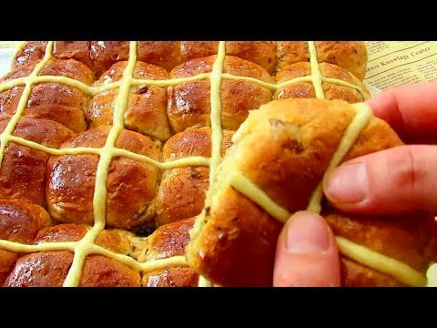 Super Soft & Moist Hot Cross Buns | Raisin Bread Recipe