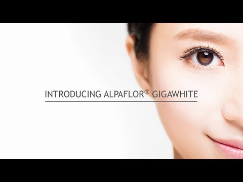 Introduction to ALPAFLOR® GIGAWHITE Luminous skin for a luminous you!