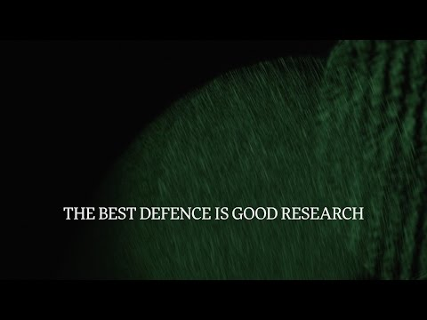 The best defence is good research