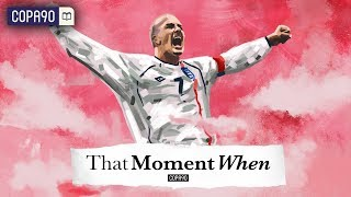 When David Beckham Became a God | That Moment When with Eli Mengem