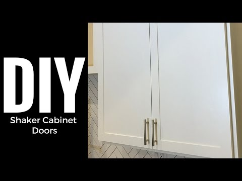 DIY Shaker Cabinet Doors - Part 2 Rails and Stiles
