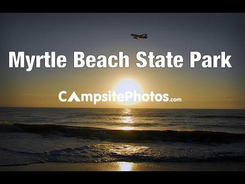 Myrtle Beach State Park, South Carolina Campsite Photos