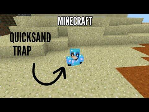 How To Make A Quicksand? | MINECRAFT PE