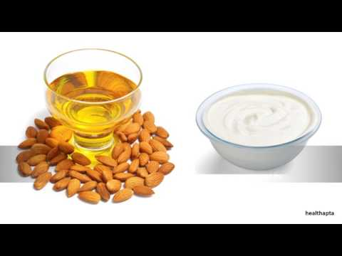 Almond Oil and Milk Cream to Lift Breasts Naturally
