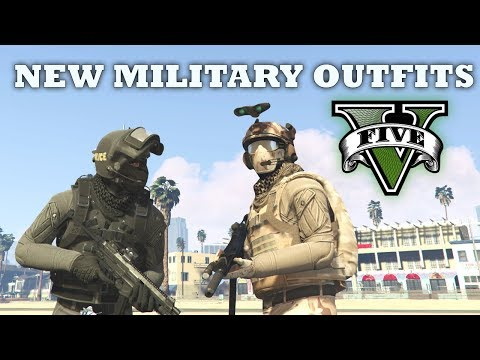 GTA V - Delta Force & SWAT Outfits | My New Top Custom Doomsday Heist Outfits