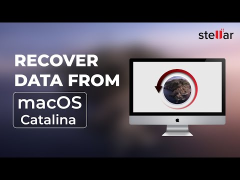 Recover Lost Data from macOS High Sierra Startup Disk Using Stellar Phoenix Mac Data Recovery