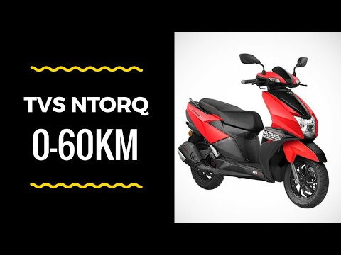 Tvs Ntorq 0-60Kms Real-Iife Test | Result was Insane | The Fastest 0-60 on 125cc