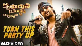 Turn This Party Up Full Video Song || Krishnarjuna Yudham Songs || Nani, Anupama, Hiphop Tamizha