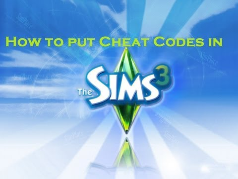 How To Put Cheat Codes in Sims 3