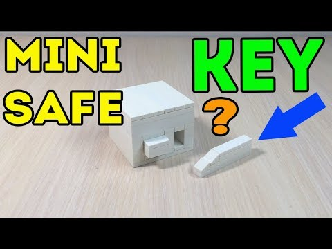 How to make a Mini Lego Safe with Key (Tutorial)