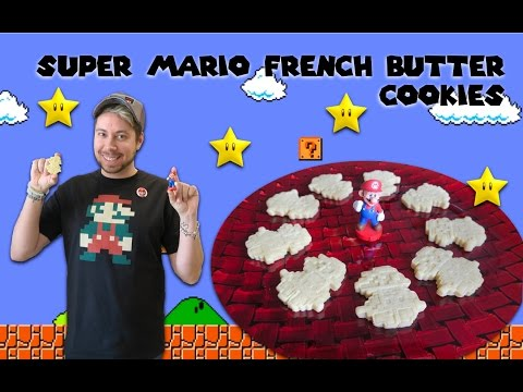 SUPER MARIO FRENCH BUTTER COOKIES ⭐️