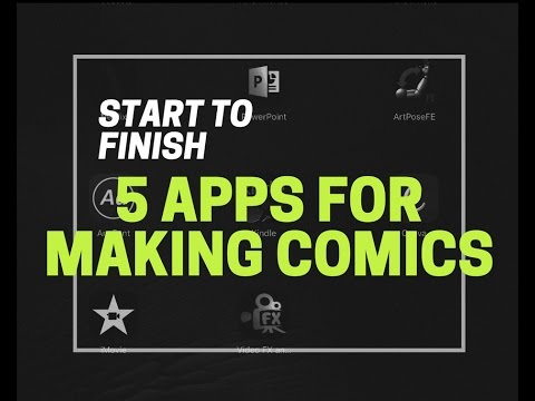 5 Apps To Make Comics On The iPad Pro