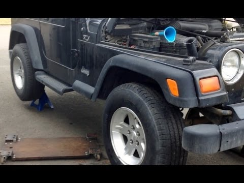Change Jeep Standard 5 Speed Transmission Oil