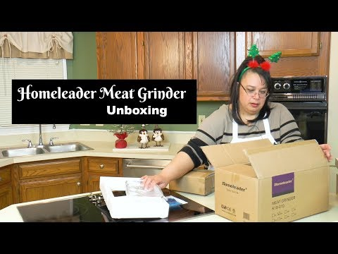 Homeleader Meat Grinder Unboxing ~ Meat Grinder Review ~ Amy Learns to Cook