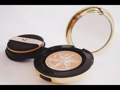 VT Essence Skin Foundation Gold Pact Review | GLAMBOX KOREA