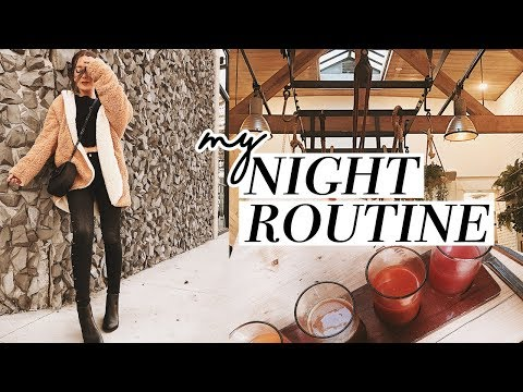 MY NIGHT TIME ROUTINE 2017!
